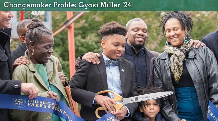 Gyasi Miller '24: A Perfect Blend of Love and Basketball