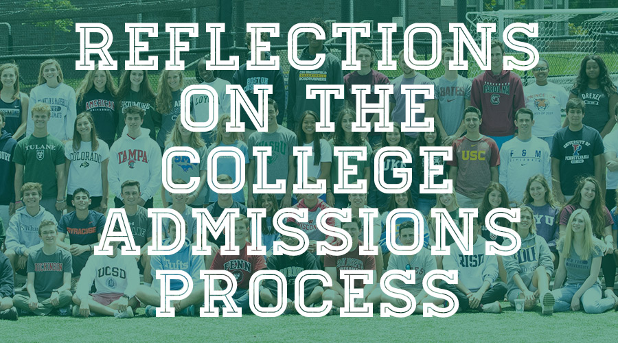 Reflections on the College Admissions Process: A Q&A With Members of Shipley's Class of 2019