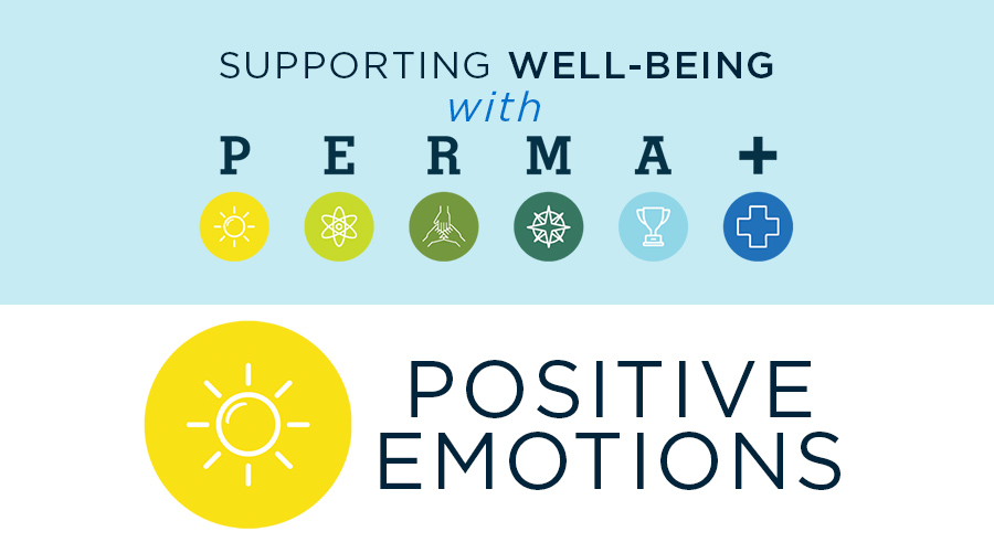Supporting Well-Being with PERMA+: Positive Emotions