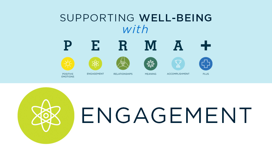 Supporting Well-Being with PERMA: Engagement