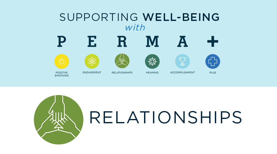 Supporting Well-Being with PERMA+: Relationships