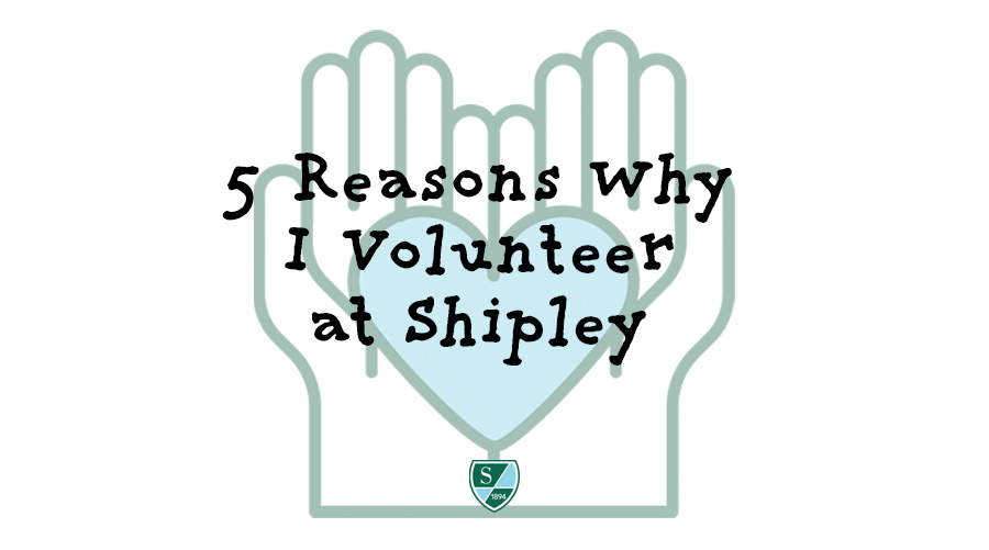 5 Reasons Why I Volunteer at Shipley