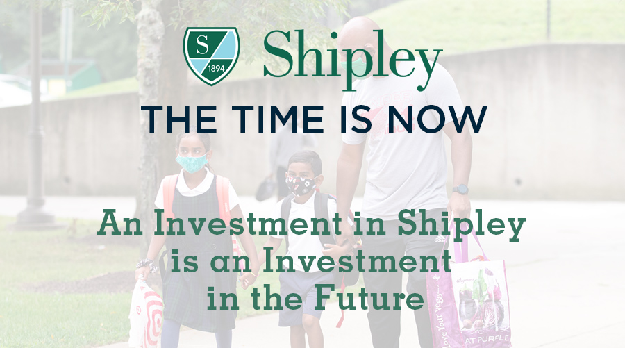 Shipley: The Time is Now