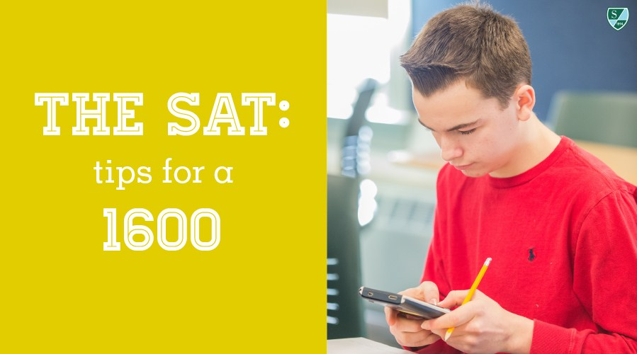 The SAT: Tips for a 1600