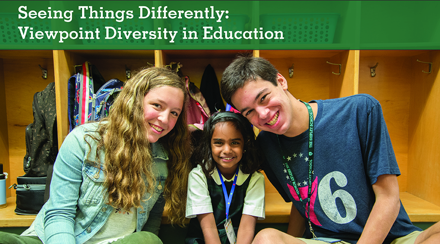 Seeing Things Differently: Viewpoint Diversity in Education