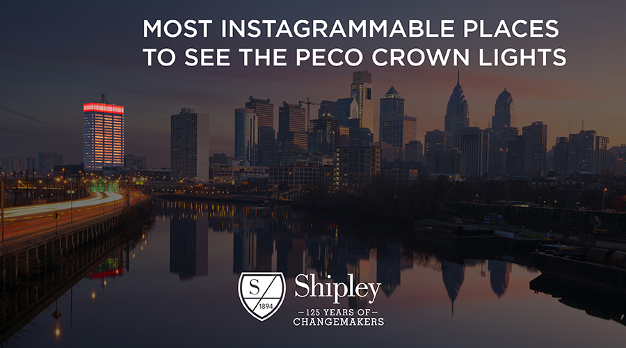 Most Instagrammable Places to See the PECO Crown Lights